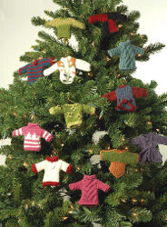 Minutia Ornament Sweaters