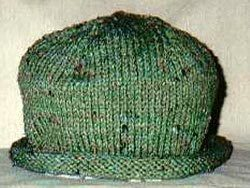 Knit Roll Brim Hat