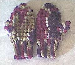 Children's Crocheted Mittens