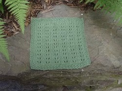 Knit Lake Ariel Dishcloth