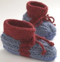 Knit Warm Boot Slippers
