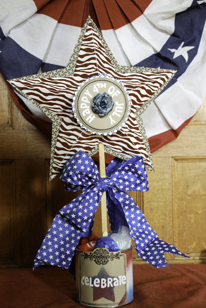 Paper Star Fourth Of July Centerpieces Favecrafts Com