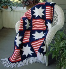 July 4th Crochet Afghan