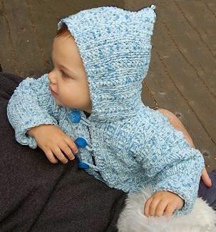 Puffin Baby Toddler Hoodie Cardigan