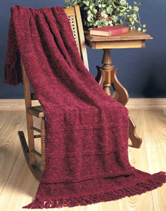 Ruby Knit Throw