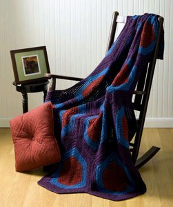 Hexagon Gem Afghan