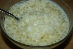 Tasty Tapioca Pudding
