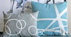 Spray Painted Slipcovers