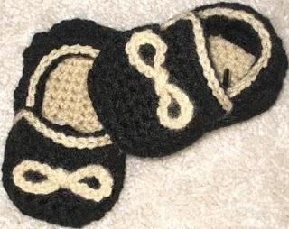 Boys Crochet Slippons