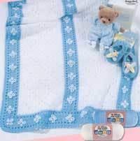 Little Boy Blue Baby Blanket