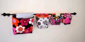 Hanging Fabric Baskets or Pockets