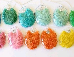 Colored Rice Easter Eggs
