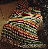 Basic Broomstick Lace Afghan
