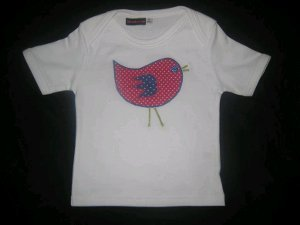 Chick Applique Shirt