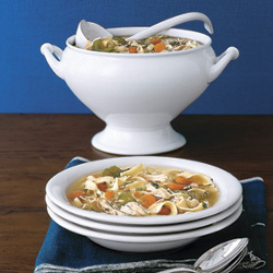 Slow Cooked Chicken Noodle Soup