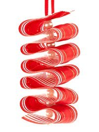 Ribbon Candy Twist Ornament