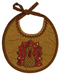 Appliqued Thanksgiving Bib Pattern