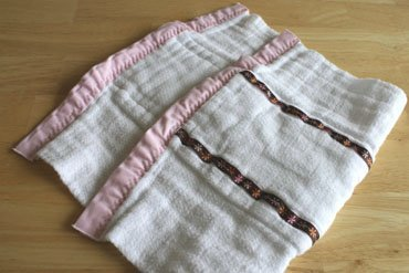 Baby Burp Cloth Tutorial