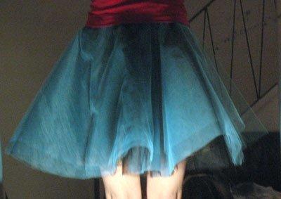 Tulle Circle Skirt Crinoline