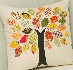 Scrap Buster Fall Pillow