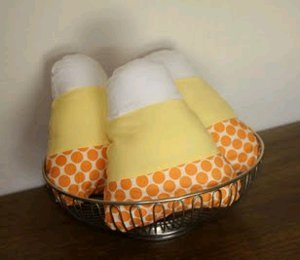 Candy Corn Softie