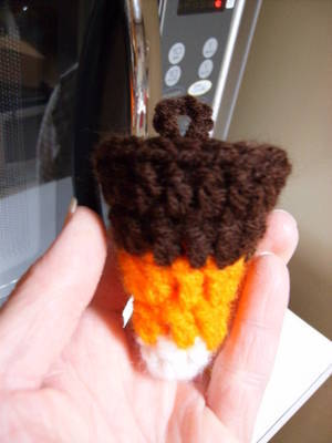 Crocheted Candy Corn
