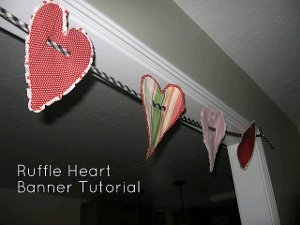 Ruffle Heart Banner (pg. 23)