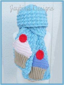 Free Crochet Cupcake Scarf Pattern
