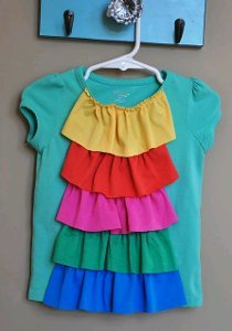Popsicle Ruffle Top