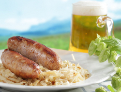 Beer Steamed Sausages