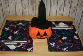 Reversible Quilted Place Mats