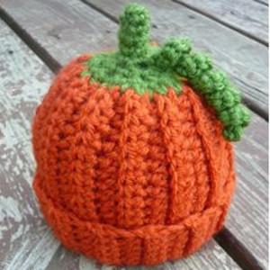 Crochet Beanie Baby Pumpkin