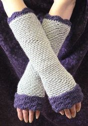 Quick and Easy Fingerless Crochet Gloves