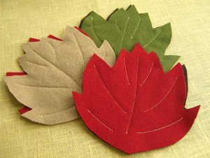 Maple Leaf Coasters