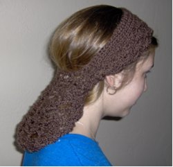 Crochet Snood Headband