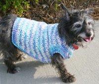 Crocheted Dog Sweater Pattern