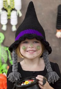 Witch Crochet Hat