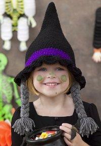 Witch Crochet Hat