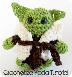 Crocheted Yoda