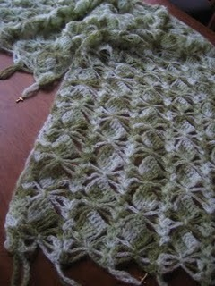 Crochet Patterns Free Prayer Shawl : Charmed Prayer Shawl AllFreeCrochet.com