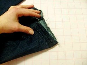How to Make Your Jeans a Little Longer
