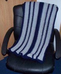 Men's Reversible Crochet Prayer Shawl