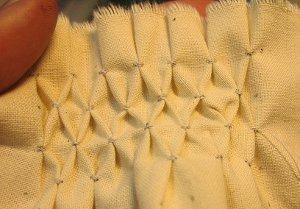 Honeycomb Smocking
