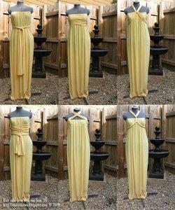 Golden Goddess Gown