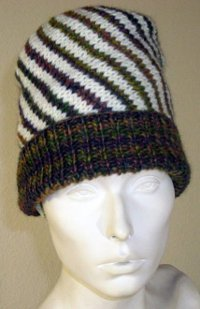 Spiral Knit Hat Pattern
