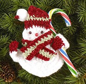 Snowman Candy Holder