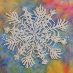 Beautiful Snowflake Pattern