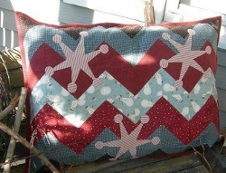 Zig Zag Pillow Magic