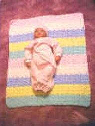 Crochet Baby Shell Afghan