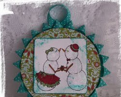 CD Christmas Ornament